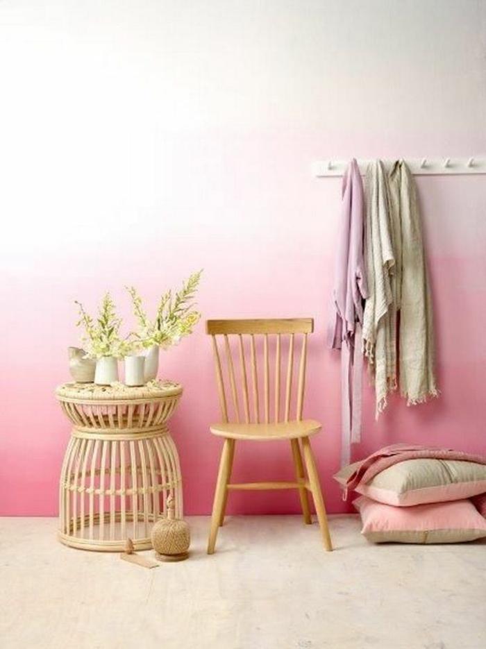 déco en rose effet tie and dye