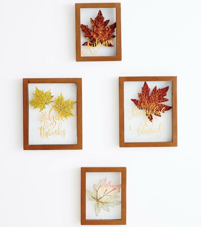 déco habiller les murs activités manuelles automne