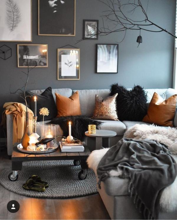 décoration d'automne fait maison ambiance zen