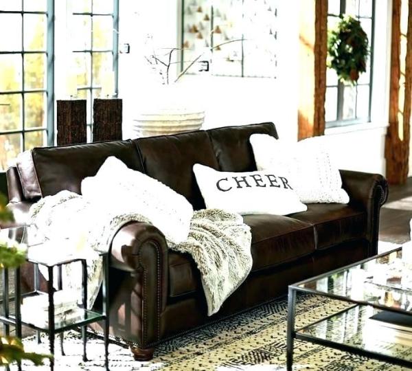 décoration d'automne fait maison en brun et blanc