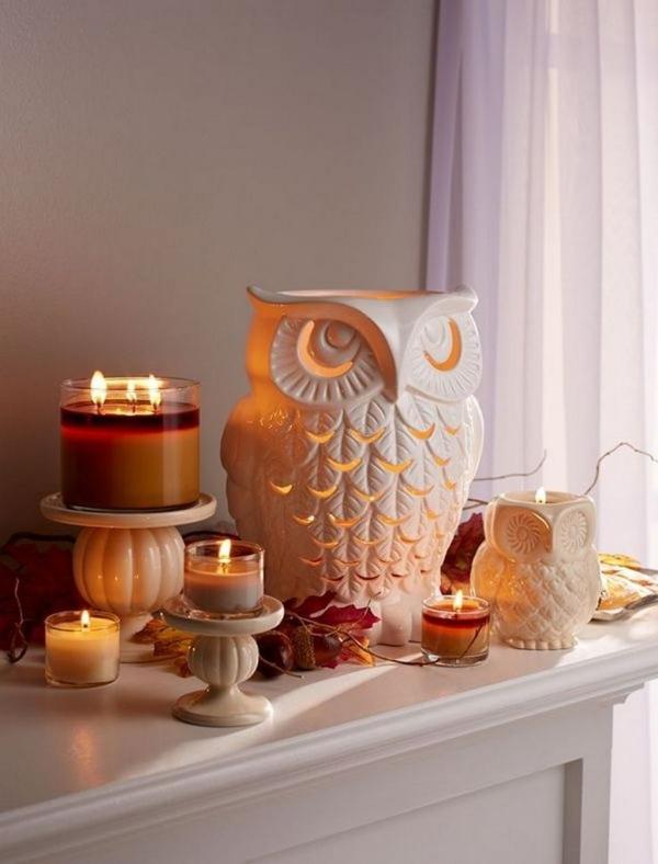 décoration d'automne fait maison points focaux