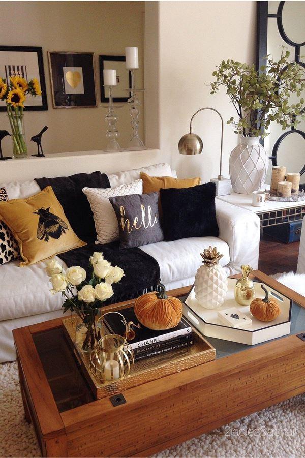 décoration d'automne fait maison pour chaque détail