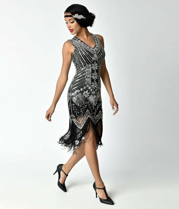 déguisement années 20 robe charleston