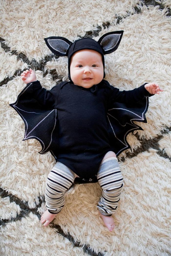 déguisement halloween bébé chauve-souris