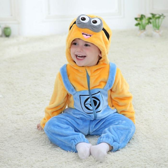 déguisement halloween bébé costume minion