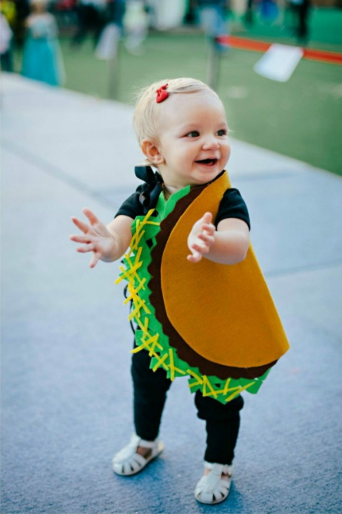 déguisement halloween bébé costume taco
