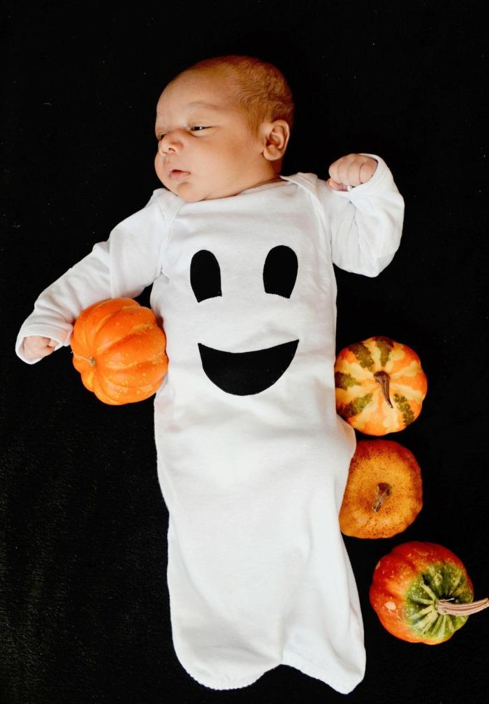 déguisement halloween bébé fantome