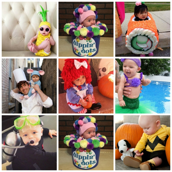 déguisement halloween bébé idées costumes