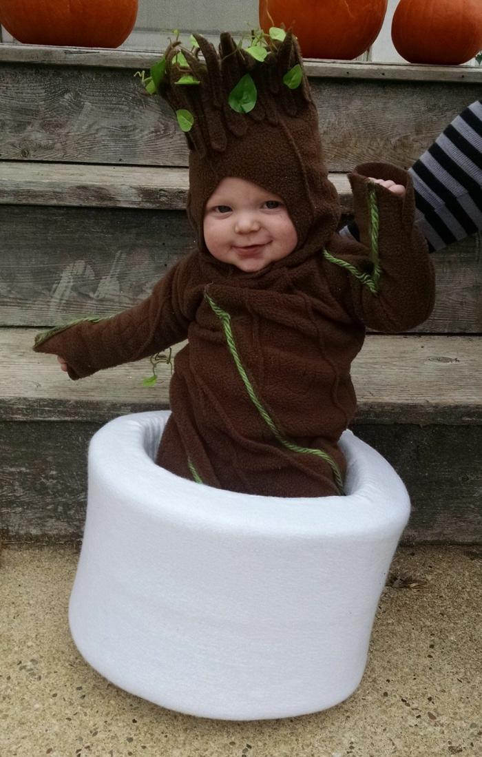 déguisement halloween bébé petit arbre