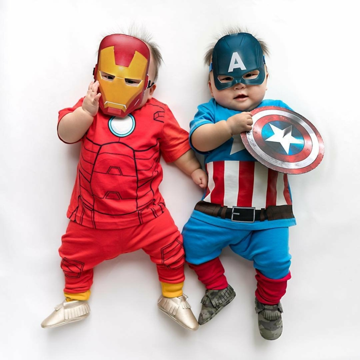 déguisement halloween bébé super héros