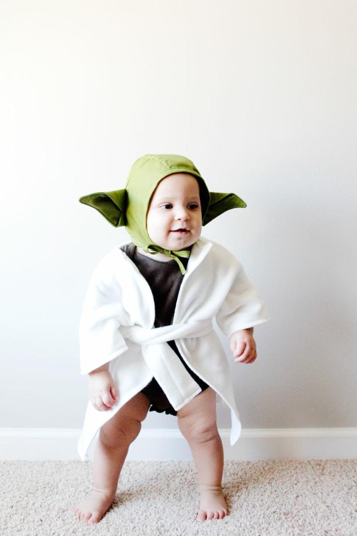 déguisement halloween bébé yoda