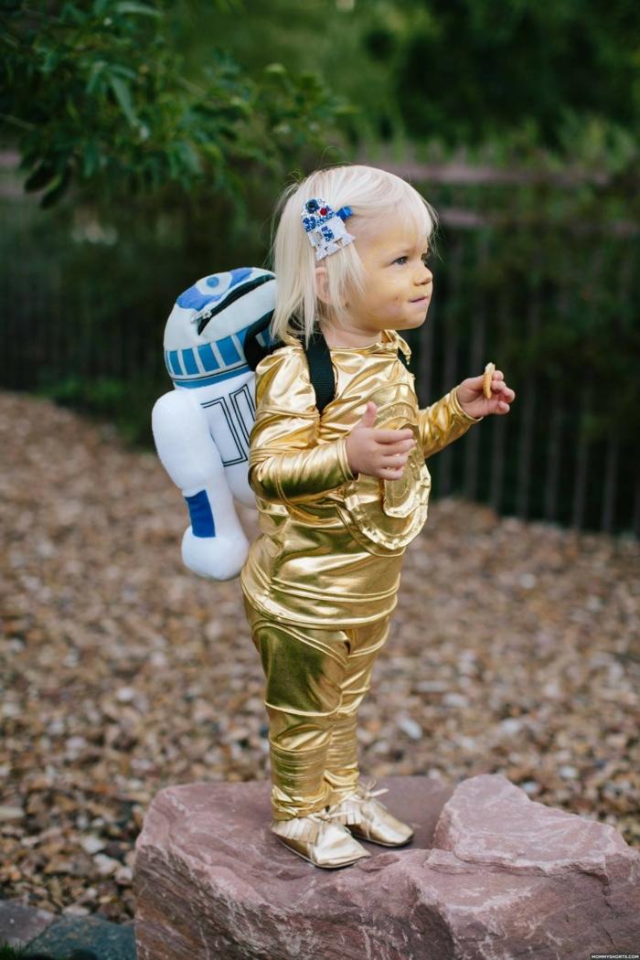 fête inoubliable idée déguisement halloween bébé