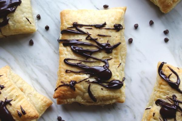 feuilleté apéro au chocolat nutella
