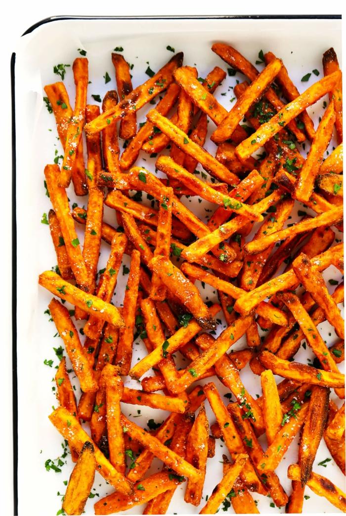 frites de patate douce apéro réussi idée