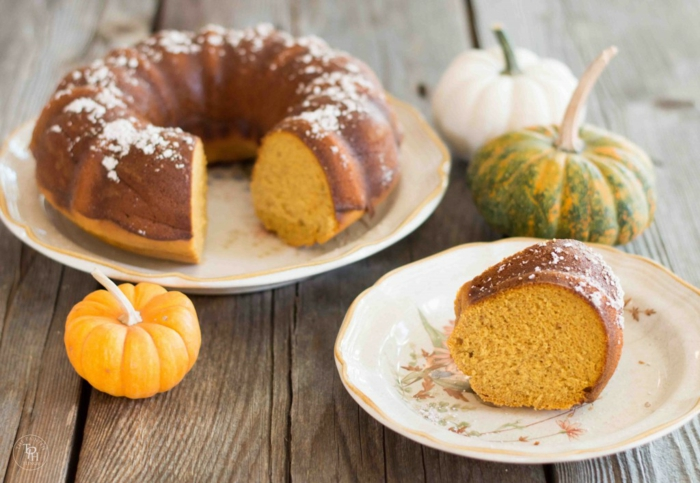gâteau à la citrouille recette simple et facile à réaliser