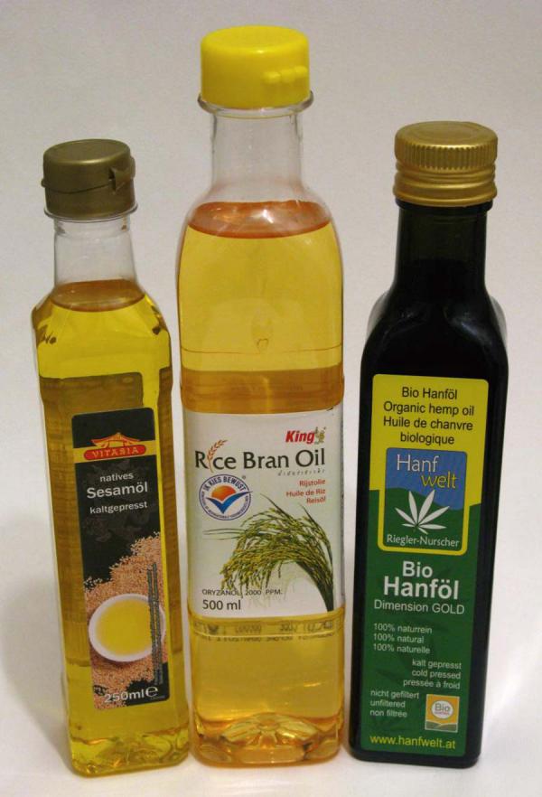 huile de graines de chanvre des produits de graines