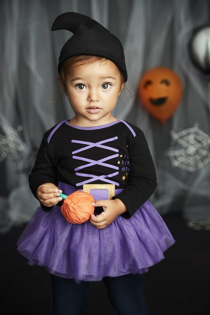 idée amusante déguisement halloween bébé