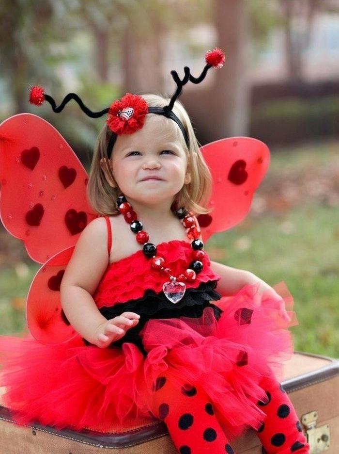 idée costume diy déguisement halloween bébé petite fille