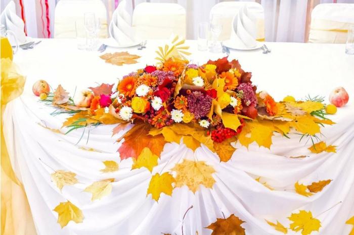 idée déco mariage activités manuelles automne