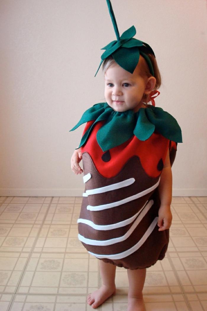 idée déguisement halloween bébé fruits