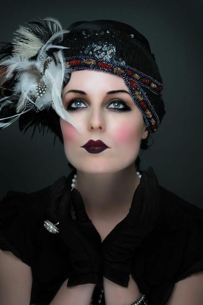 idée maquillage déguisement années 20