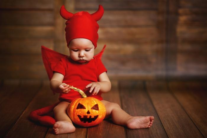 idée originale de déguisement halloween bébé