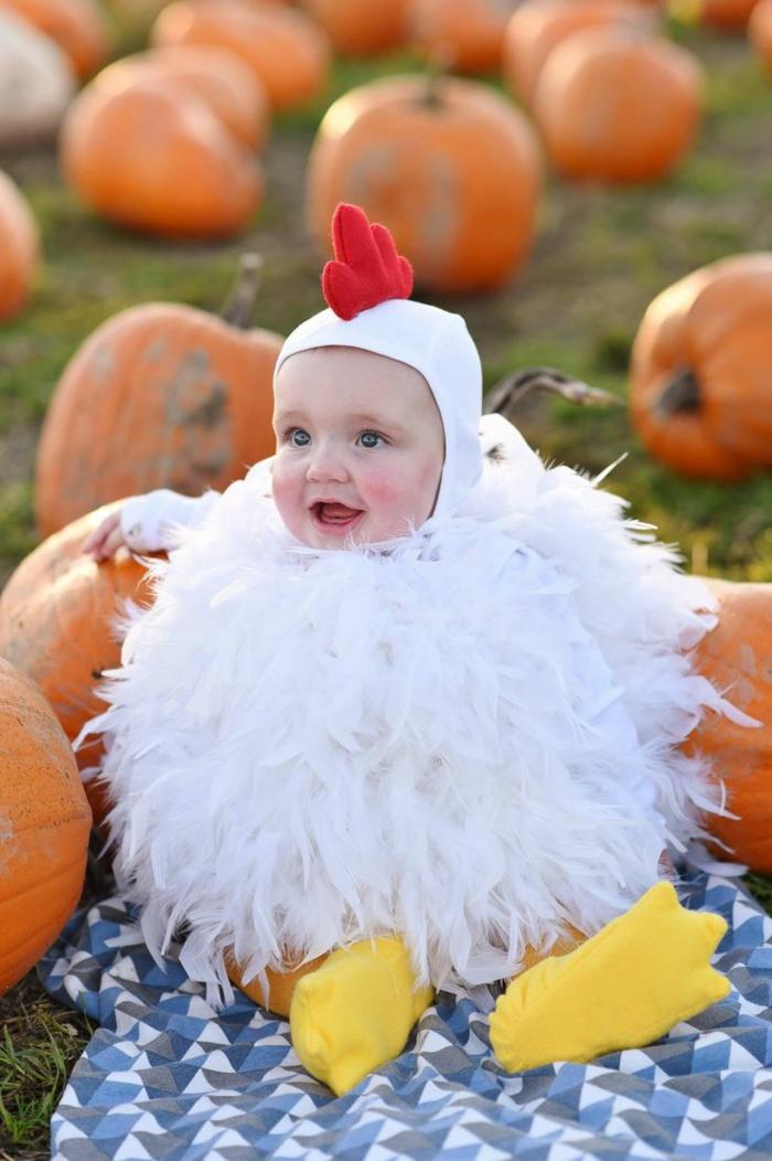 idée rigolo de déguisement halloween bébé