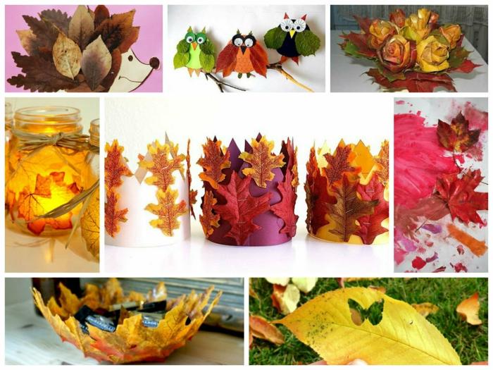 idées inspirantes activités manuelles automne
