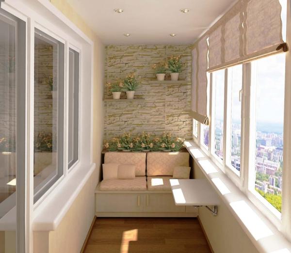 meubles pliables tons beiges et blancs