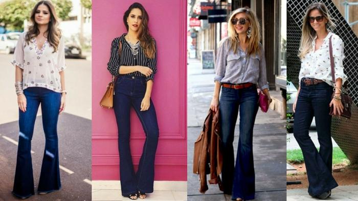 mode 2019-2020 femme jean flare femme