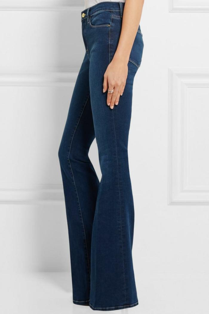 mode femme 2019-2020 jean flare femme