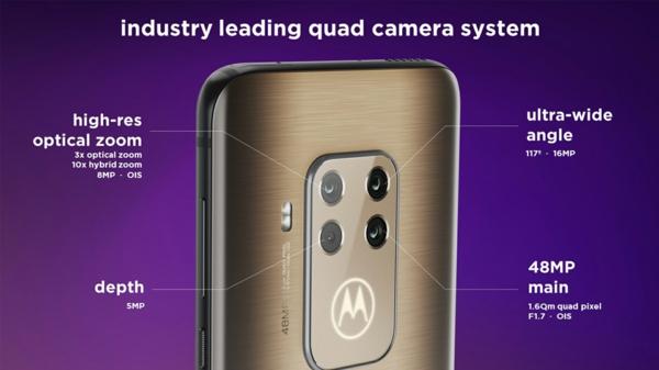 motorla one zoom caractéristiques caméra