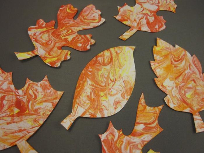 mousse à raser activités manuelles automne