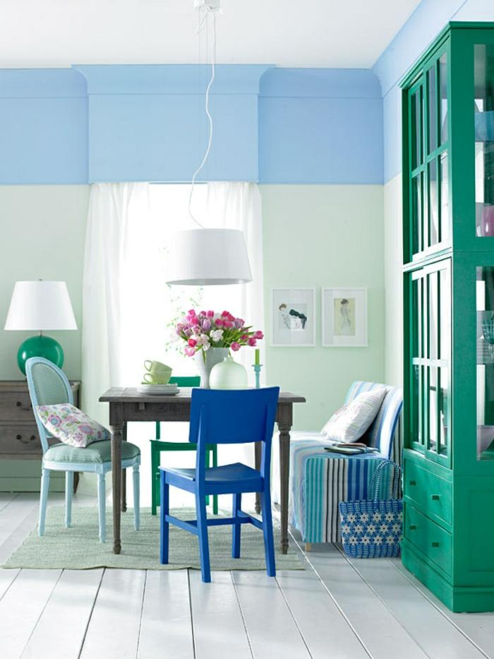 mur en bleu et tranquil dawn couleur aube tranqille levis 2020