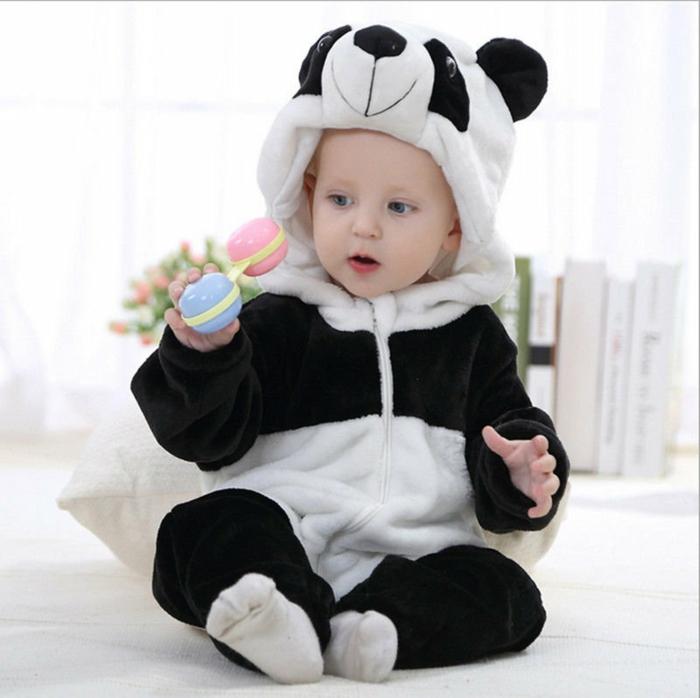 panda déguisement halloween bébé