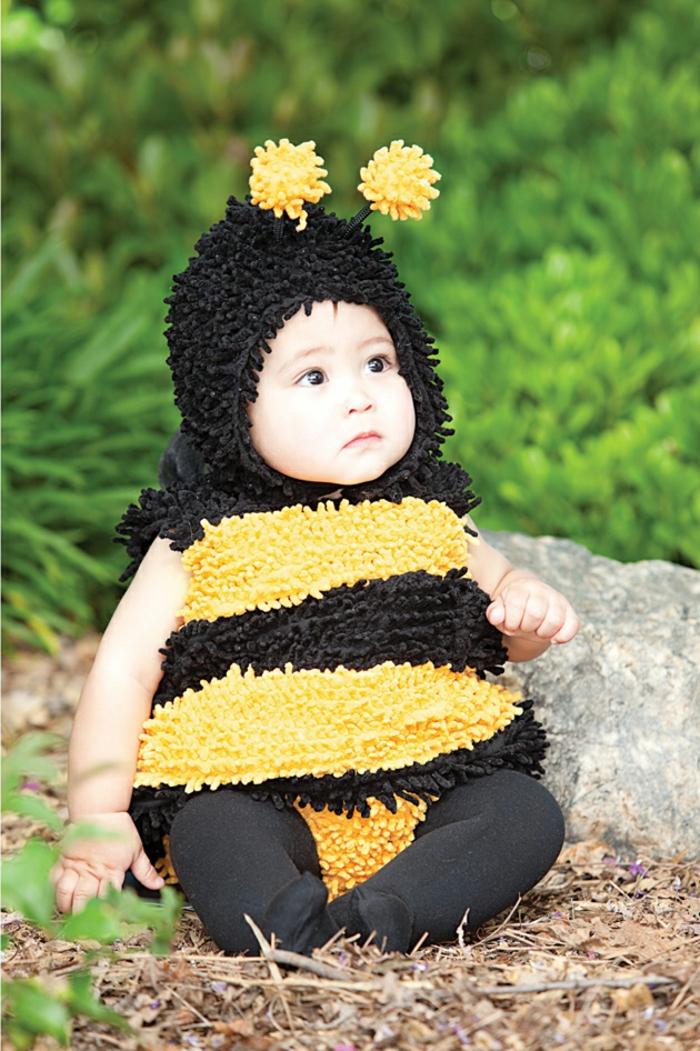 petite abeille déguisement halloween bébé
