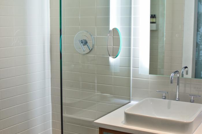 petite salle de bains aménagement