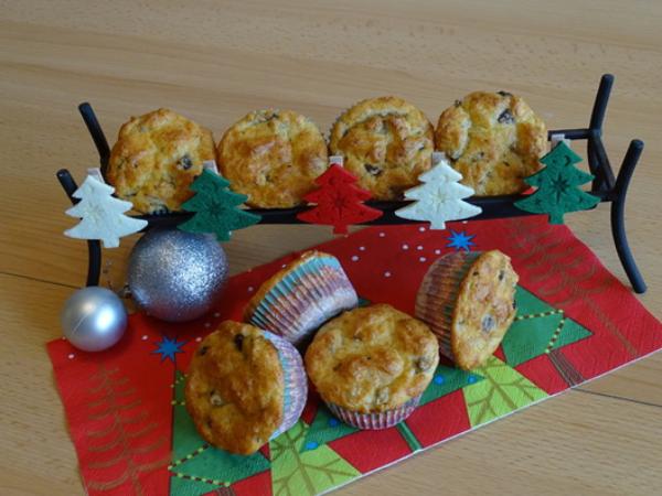 recette avec des champignons des muffins aux champignons