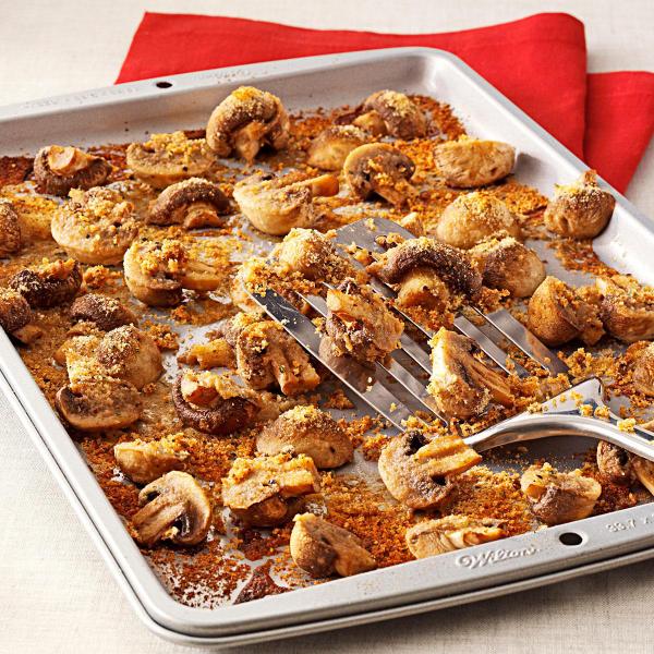 recette avec des champignons un plat aux champignons panés
