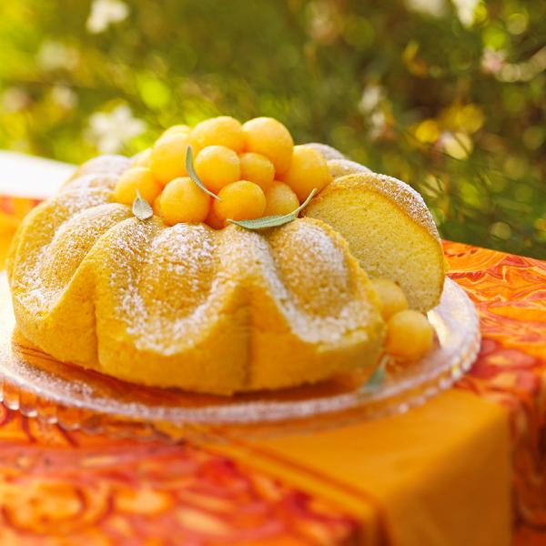 recette avec melon cake jaune
