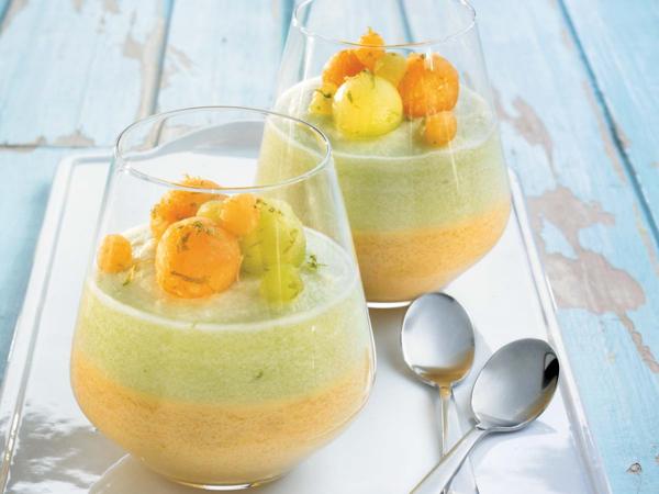 recette avec melon mousse au melon