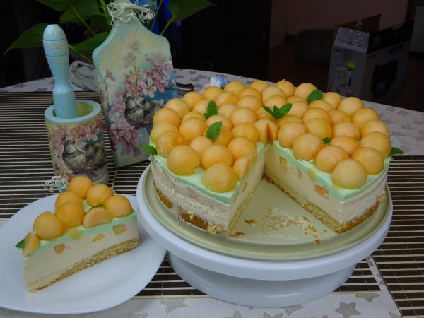 recette avec melon tarte délicieuse
