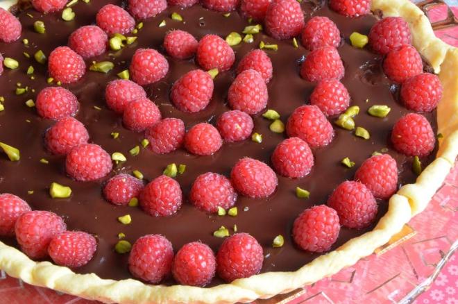 recette framboise au chocolat