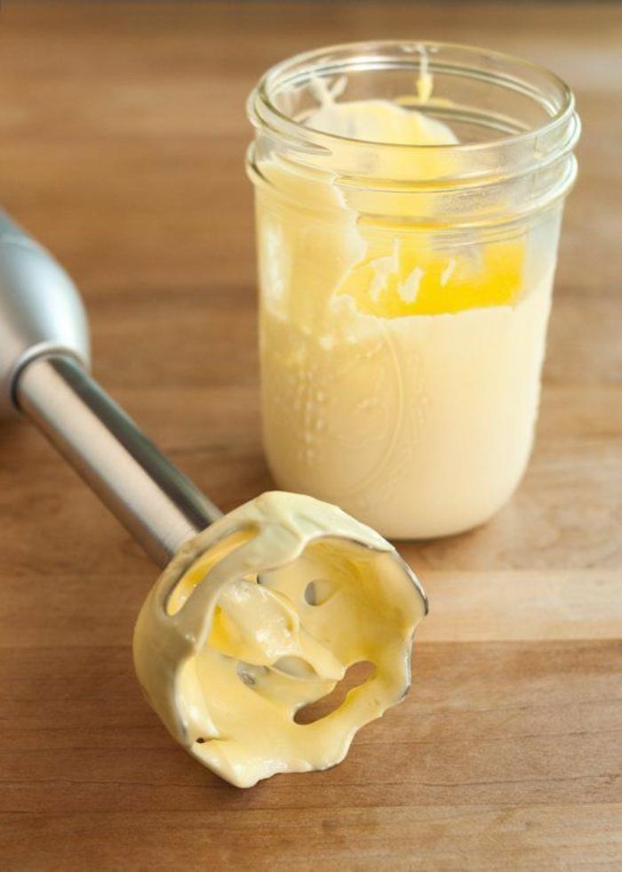 recette mayonnaise avec mixeur