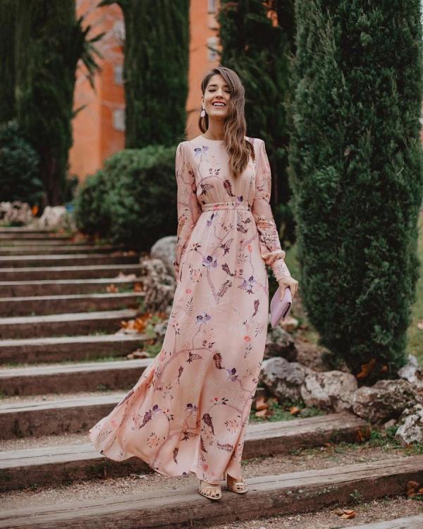 robe élégante automne 2019 pour occasion solennelle