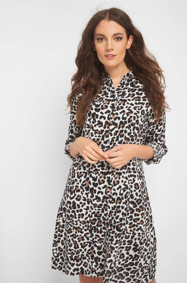 robe élégante automne 2019 toujours léopard