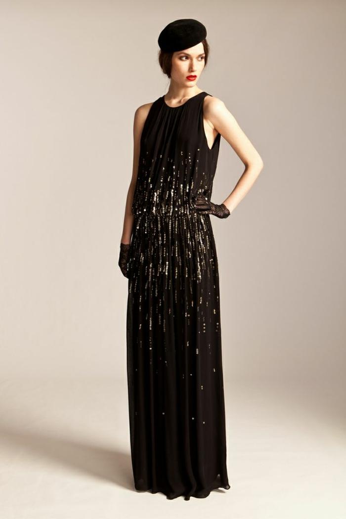 robe de soirée déguisement années 20