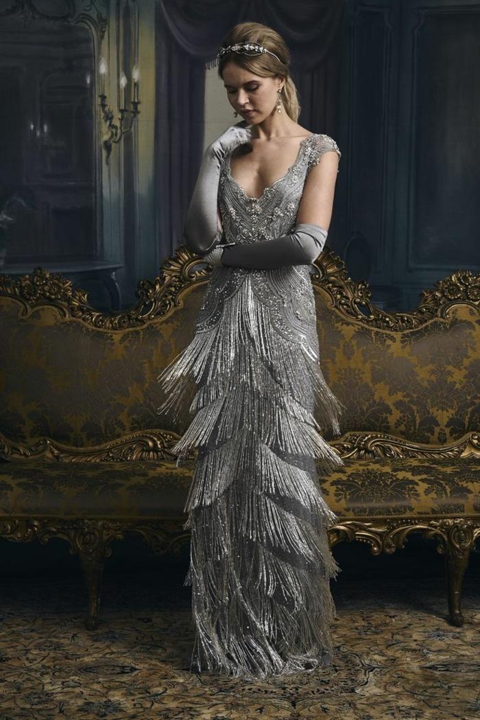 robe de soirée idée déguisement années 20