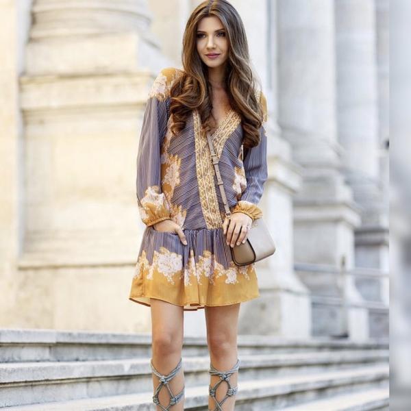 robe élégante automne 2019 belle collection