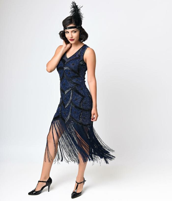 robe magnifique déguisement années 20